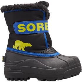 Sorel Snow Commander Botas Niños, negro/azul